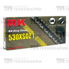 Цепь для мотоцикла до 1000 см³ (с сальниками RX-RING) 530XSOZ1-122