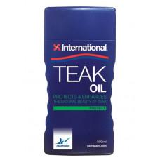 Масло для защиты древесины PREMIUM TEAK OIL 0.5L