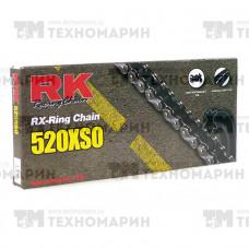 Цепь для мотоцикла до 750 см³ (с сальниками RX-RING) 520XSO-114