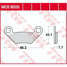 Колодки тормозные (серия Sinter Offroad) MCB855SI