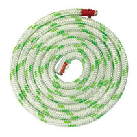Трос LUPES LS 8мм бело-зелёный_200м