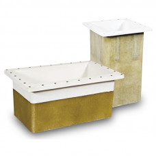 Монтажный бокс для подруливающих устройств Compact Retract - Aluminium