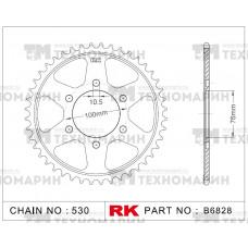 Звезда для мотоцикла ведомая B6828-44