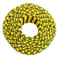 Шнур яхтенный ЭКСТРИМ 10мм желто-черный