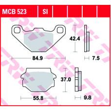 Колодки тормозные (серия  Organic Allround) MCB523