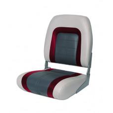 Сиденье мягкое Special High Back Seat, серо-чёрное