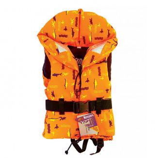 Жилет 100N FREEDOM оранжевый с рисунком 20-30 кг