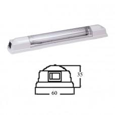 Светильник интерьерный флуоресцентный 285мм, 24В