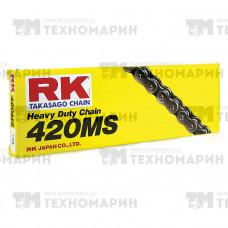Цепь для мотоцикла до 125 см³ (без сальников) 420MS-140