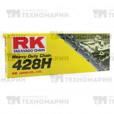 Цепь для мотоцикла до 200 см³ (без сальников) 428HSB-124