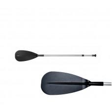 Весло алюминиевое для SUP-серфинга 180-230см черная лопасть