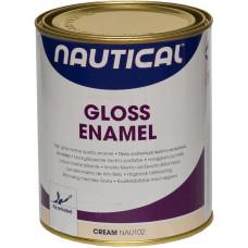Эмаль глянцевая кремовый 0,75 л