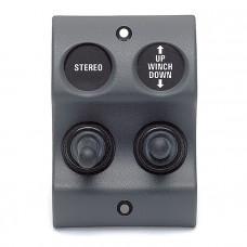 Панель переключателей MICRO (вкл/выкл - вкл/выкл/вкл)