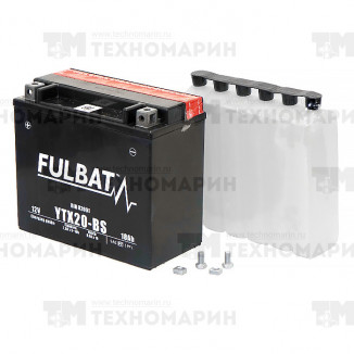 Аккумулятор FTX20-BS (YTX20-BS)