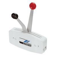 Контроллер двухрычаговый вертикального крепления белый