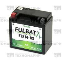 Аккумулятор гелевый FTX14-BS-GEL (YTX14-BS)