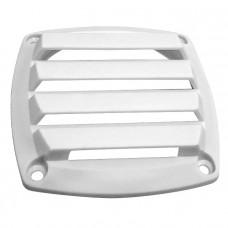Крышка вентиляции пластмассовая квадратная 85х85мм, белая