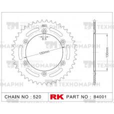 Звезда для мотоцикла ведомая B4001-42