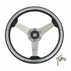 Колесо рулевое LINOSA S/S серебристое