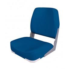 Сиденье мягкое складное Economy Low Back Seat, синее