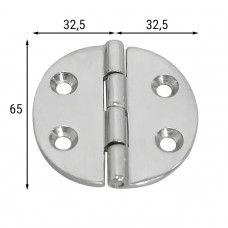 Петля неразъемная 65х65х4 мм