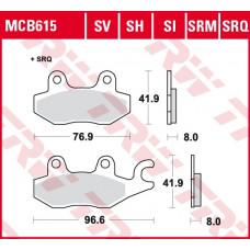 Колодки тормозные (серия Sinter Offroad) MCB615SI