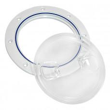 Крышка люка технологическая 102.0 прозрачная
