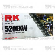 Цепь для квадроцикла до 750 см³ (с сальниками XW-RING) 520EXW-104