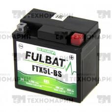 Аккумулятор гелевый FTX5L-BS-GEL (YTX5L-BS)