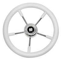 Колесо рулевое V.57W белое (Уц)