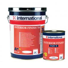 Краска Interior Finish 750 (RAL 9010) для покрытия внутренних помещений (5л)
