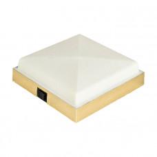 Светильник интерьерный накладной 135х135 мм, пластмасса