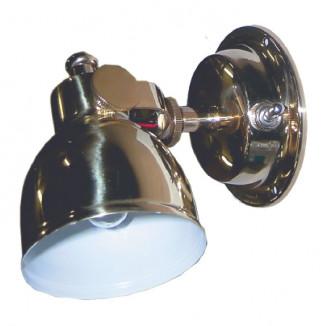 Лампа интерьерная 75х114х152 мм, латунь