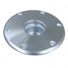 Основание стойки столешницы палубное 178х45х80 мм врезное,алюминий