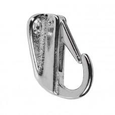 Крючок для одежды 41х34 мм хромир.сталь