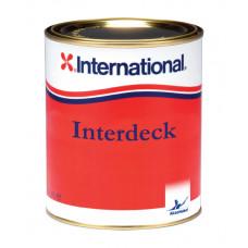 Нескользящая краска для палубы Interdeck (белая) 0,75мл