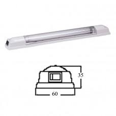 Светильник интерьерный флуоресцентный 355мм, 12В