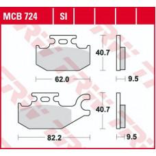 Колодки тормозные (серия Sinter Offroad) MCB724SI