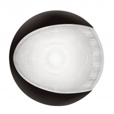 Светильник интерьерный светодиодный накладной 130х30мм, черный корпус
