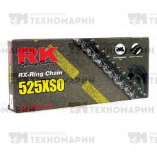 Цепь для мотоцикла до 900 см³ (с сальниками RX-RING) 525XSO-124