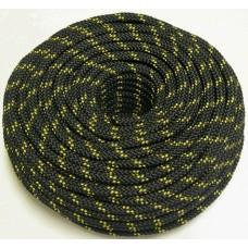 Шнур яхтенный ЭКСТРИМ  6мм желто-черный