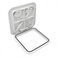 Крышка рундука SEAFLO 370x375мм, белый пластик