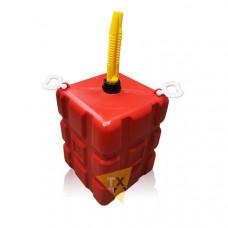 Емкость 25л красная (узкая горловина) EB-0252-R