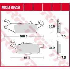 Колодки тормозные (серия Sinter Offroad) MCB802SI