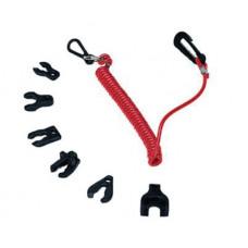 Чека предохранительная на шнуре Suzuki/Johnson 4-т
