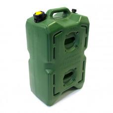 "Канистра ""Экстрим-Драйв"" 30л зеленая (хаки) (без клапана) ED-0300-BK-G"