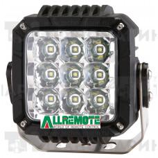 Прожектор светодиодный для ATV, 9х10W направленный свет OS-053 LED