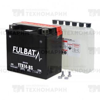 Аккумулятор FTX14-BS (YTX14-BS)