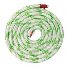 Трос LUPES LS 10мм бело-зелёный_50м