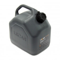 Канистра для ГСМ 10л черная LECAR PREMIUM